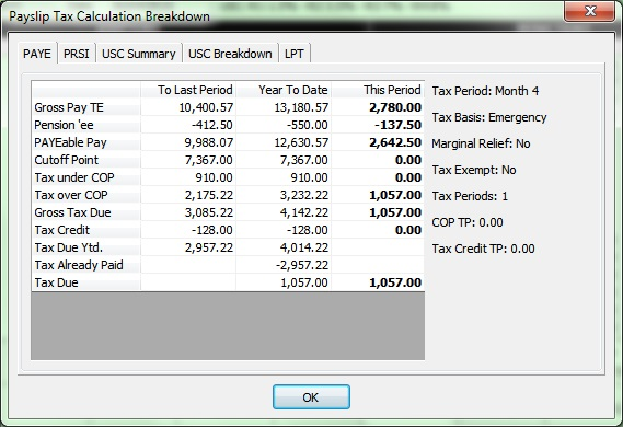 ardbrook paye usc prsi and lpt calculation breakdown